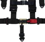 Racing Harness 5 Point Sewn In Pads – Black 4